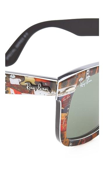 Ray-Ban Printed Wayfarers