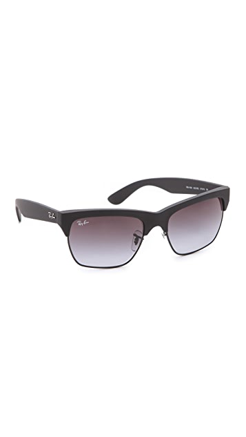 Ray-Ban Rubberized Clubmaster Sunglasses