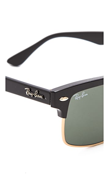 Ray-Ban Glossy Clubmaster Sunglasses