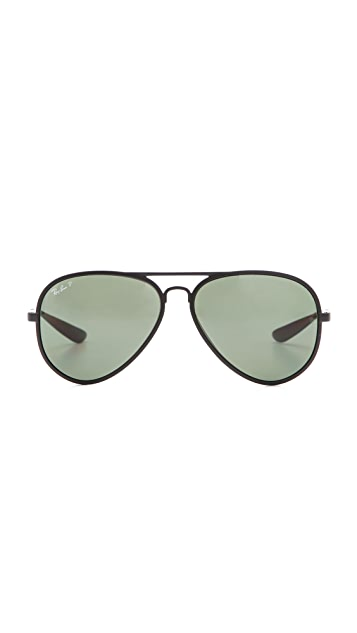 Ray-Ban New Polarized Aviator Sunglasses