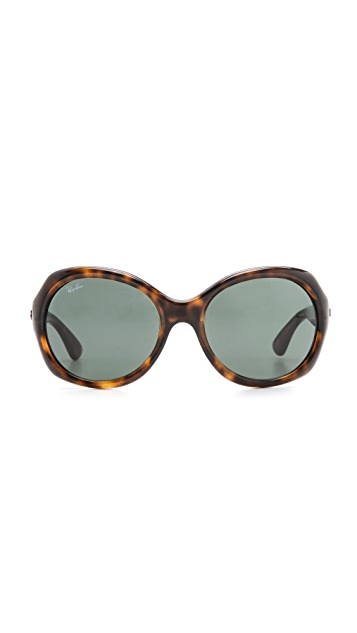 Ray-Ban Round Glam Sunglasses