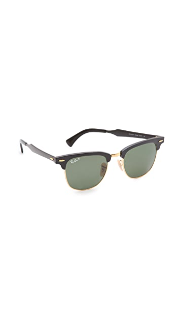 Ray-Ban Oversized Two Tone Clubmaster Sunglasses