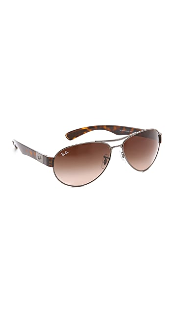 Ray-Ban Small Wrap Aviator Sunglasses