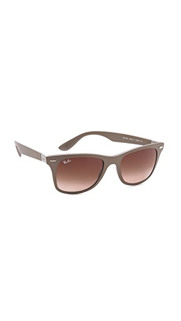 Ray-Ban Light Force Matte Wayfarer Sunglasses