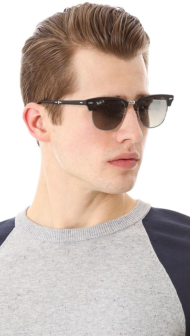 ray ban clubmaster sunglasses polarized