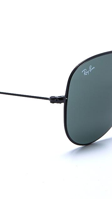 Ray-Ban Thin Aviator Sunglasses