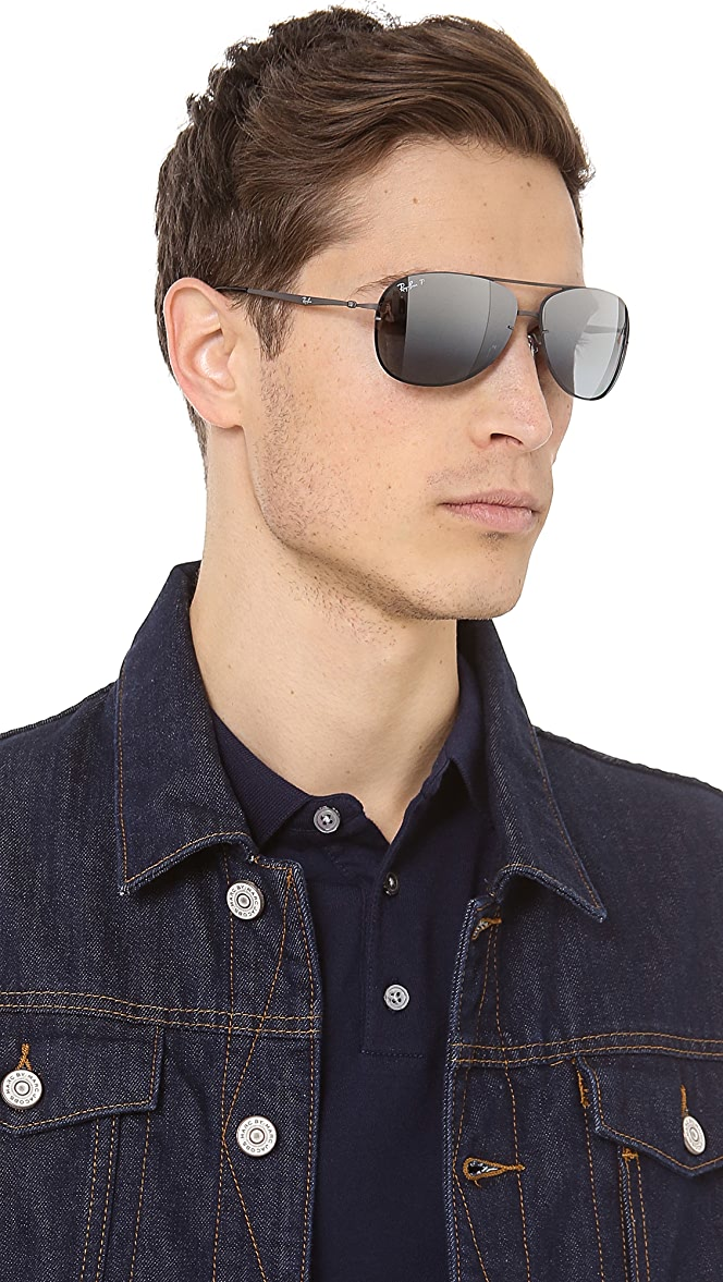 ray ban aviator polarized lenses