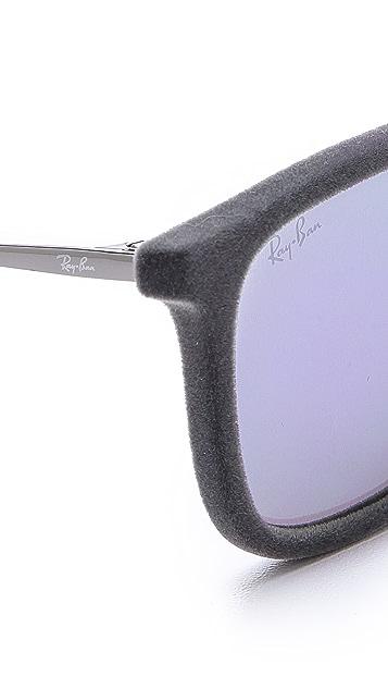 Ray-Ban Velvet Mirrored Sunglasses