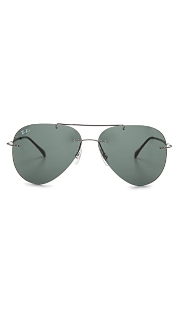 Ray-Ban Light Tech Aviator Sunglasses