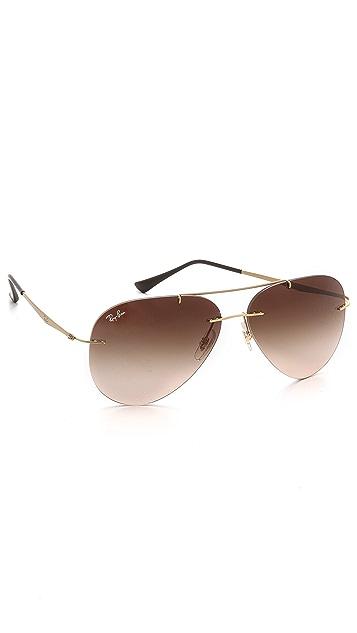Ray-Ban Light Tech Aviator Sunglasses