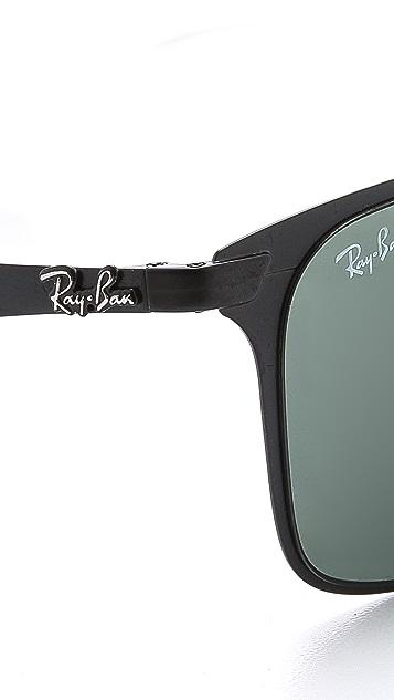 Ray-Ban Flat Metal Wayfarer Sunglasses