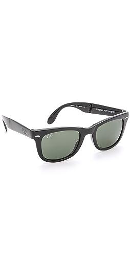 Ray-Ban - Folding Wayfarer Sunglasses