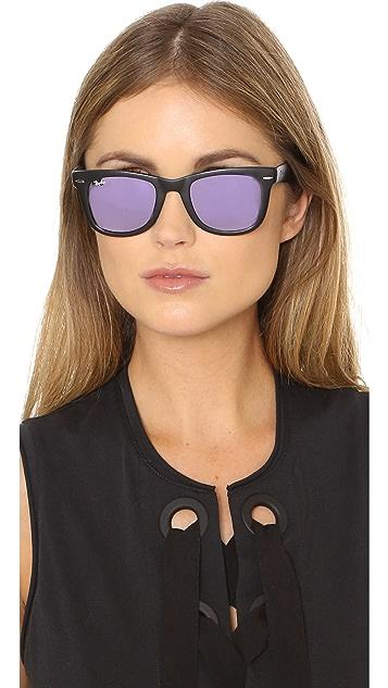 pretty cool attractive price professional sale Mirrored Wayfarer Sunglasses