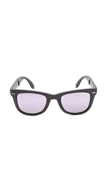 Ray-Ban Mirrored Wayfarer Sunglasses