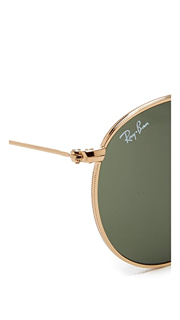 Ray-Ban RB3532 Icons Round Sunglasses