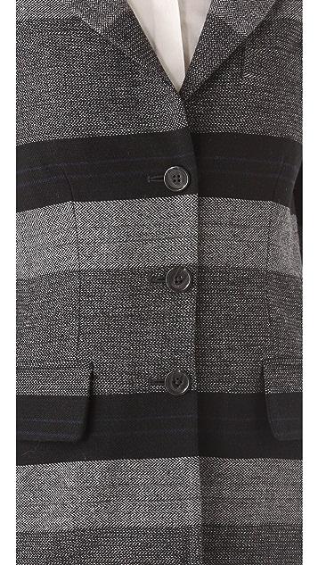 Richard Chai Love Long Three Button Blazer