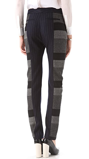 Richard Chai Love Slim Combo Trousers