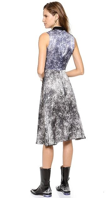 Rodarte Printed Acid Wash Dress