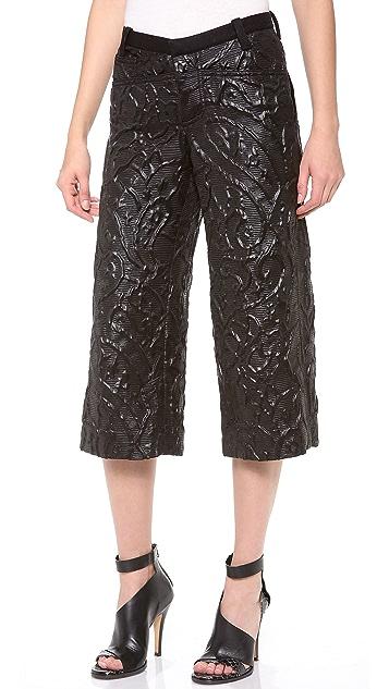 Rodarte 3D Woven Pants