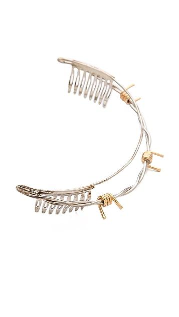 Rodarte Barbed Wire Headdress