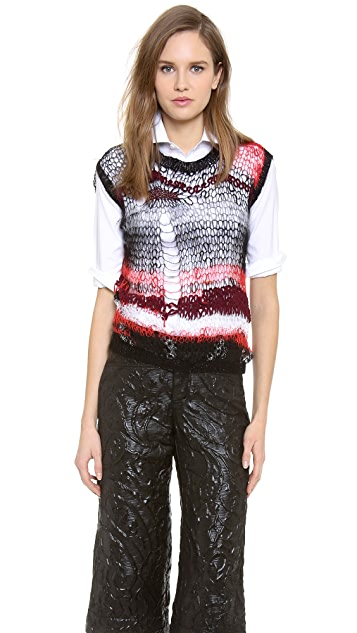 Rodarte Knit Shell Top