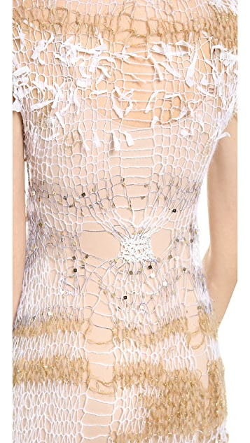 Rodarte Loose Knit Dress