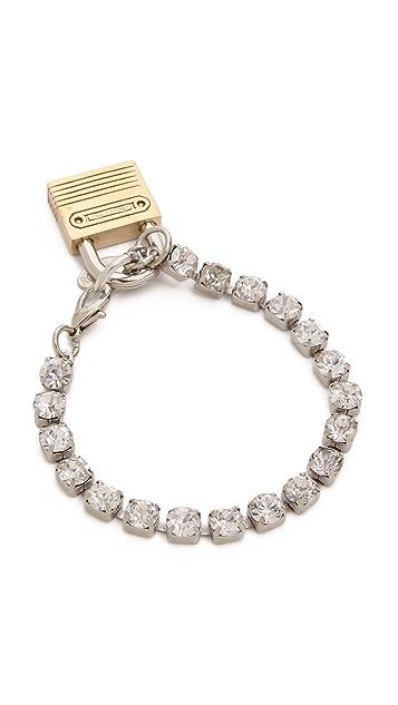 Rodarte Bracelet with Padlock