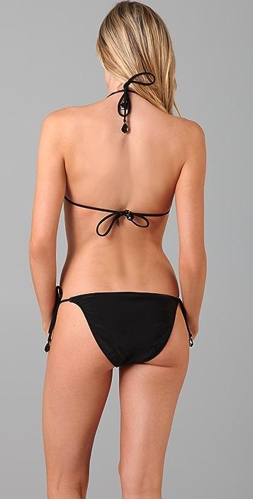 Red Carter Private Benjamin Bikini Top