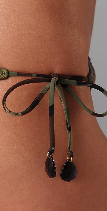 Red Carter Private Benjamin Bikini Bottoms