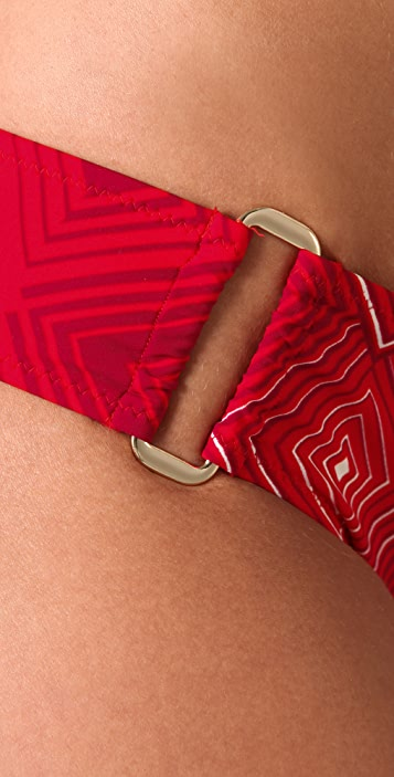 Red Carter Aphrodite Bikini Bottoms