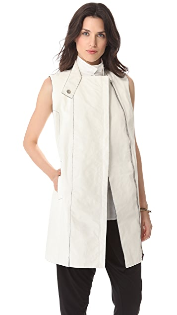 RDM by Rue du Mail Paper Trench Vest