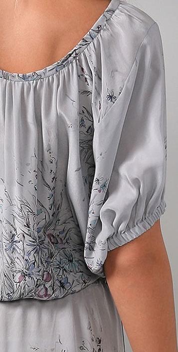 Rebecca Taylor Botanical Shirtdress