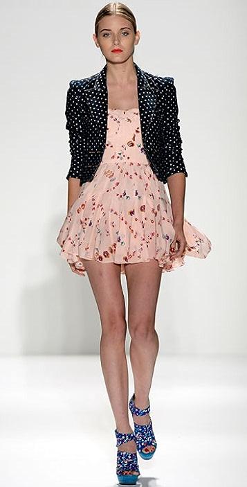 Rebecca Taylor Corset Dress