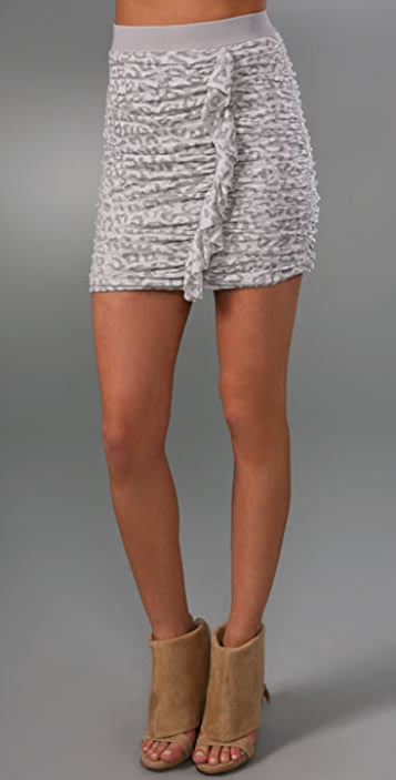 Rebecca Taylor Ruched Skirt