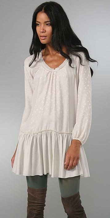 Rebecca Taylor Petite Fleur Runway Dress