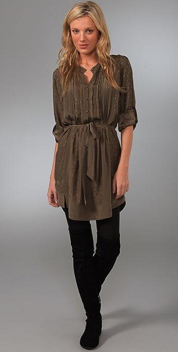 Rebecca Taylor Petite Fleur Tunic Dress