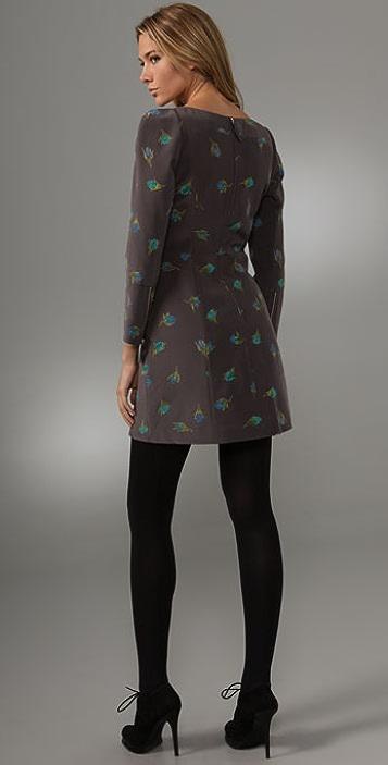 Rebecca Taylor Grande Fleur Dress