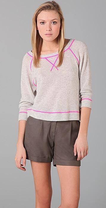 Rebecca Taylor Crew Neck Sweater