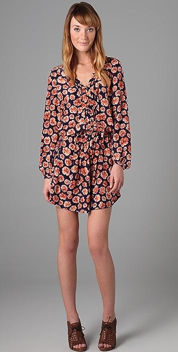 Rebecca Taylor Pom Pom Tunic Dress