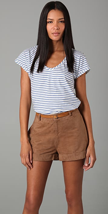 Rebecca Taylor Bluebell Stripe Tee
