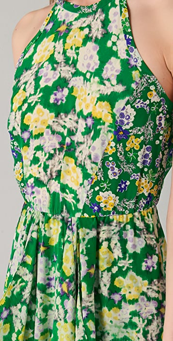 Rebecca Taylor Garden Flower Flutter Dress