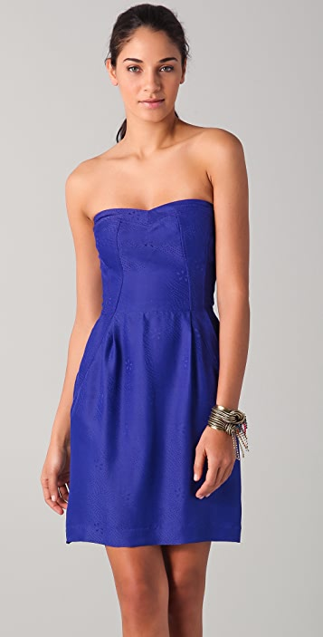 Rebecca Taylor Stunning Strapless Dress