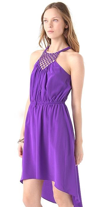 Rebecca Taylor Macrame Cami Dress