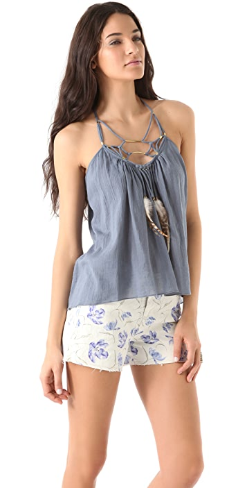 Rebecca Taylor Necklace Camisole