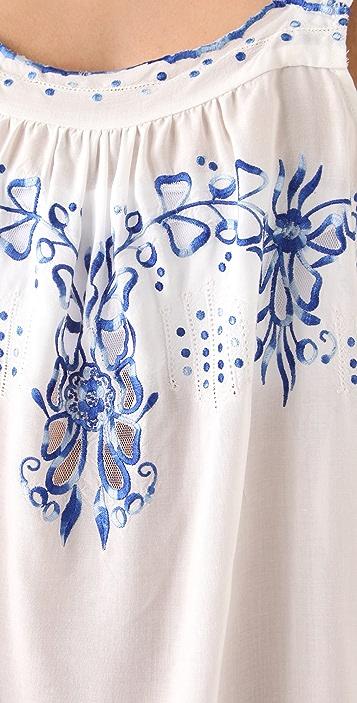 Rebecca Taylor Moroccan Embroidered Camisole