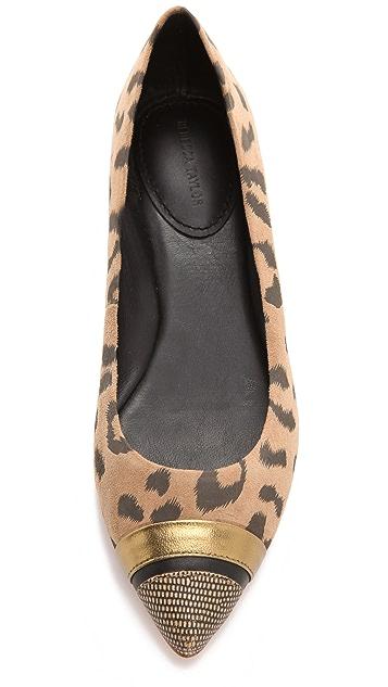 Rebecca Taylor Lola Pointy Toe Flats