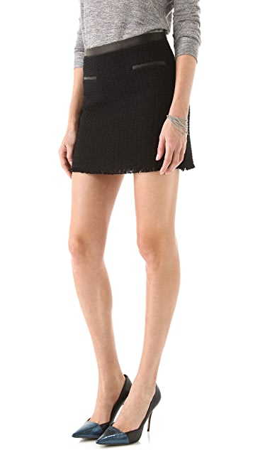 Rebecca Taylor Tweed Miniskirt