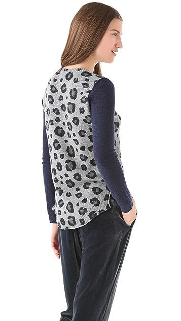 Rebecca Taylor Leo Block Sweater