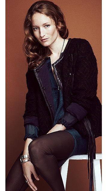 Rebecca Taylor Chiffon Leggings