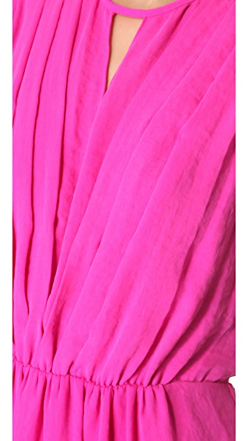 Rebecca Taylor Silk Drape Dress